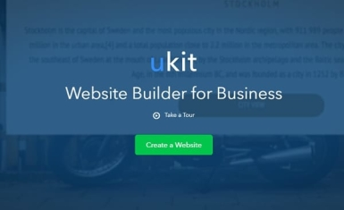 uKit website builder