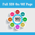 Full SEO On page + Off Page    Premium Solutions